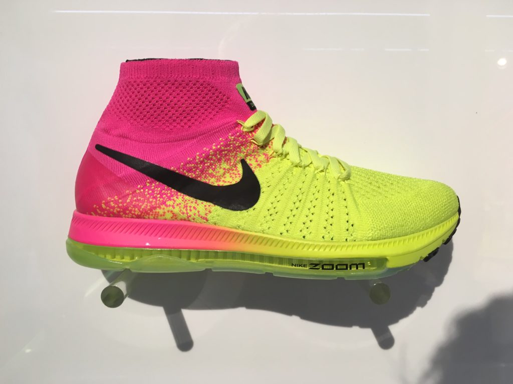 f0578bda71a The Nike Zoom All Out Flyknit will make you forget what you knew about  traditional footwear - Canadian Running Magazine