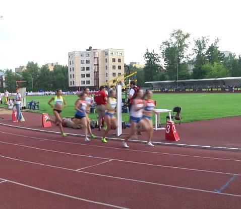 Russian track team