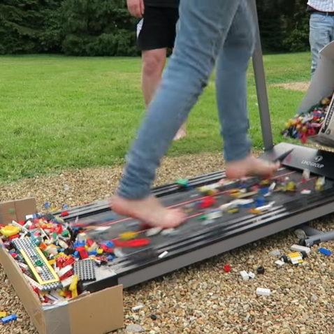 Lego Treadmill Challenge