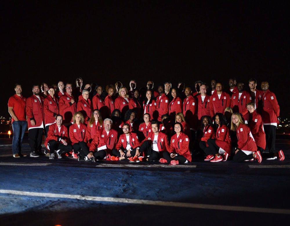 Canada's Olympic team