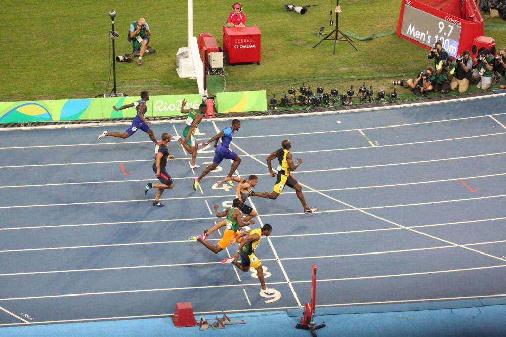 Usain Bolt's spikes
