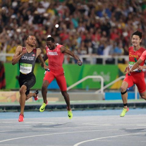 Men's 4x100m