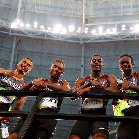 Men's 4x100m appeal