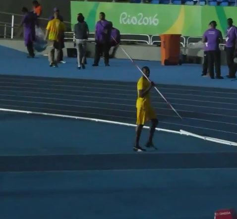 Usain Bolt Javelin