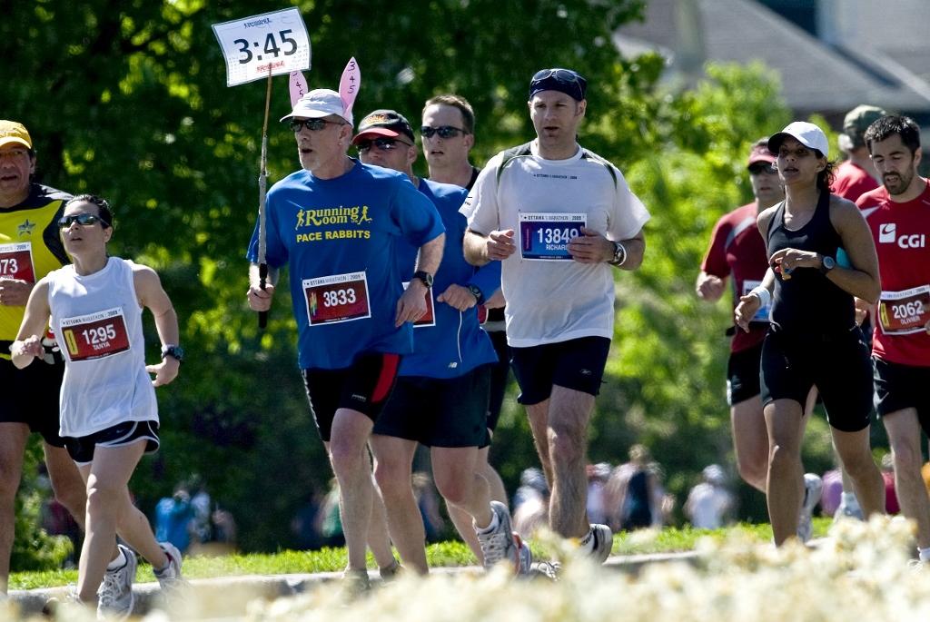 Ottawa Ontario 2009 Ottawa Marathon