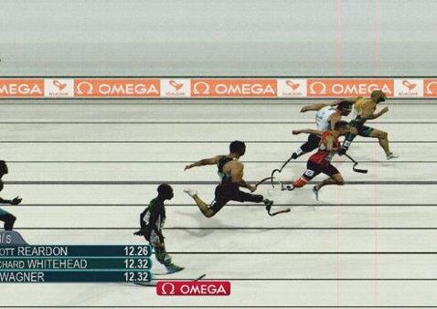 T42 100m final