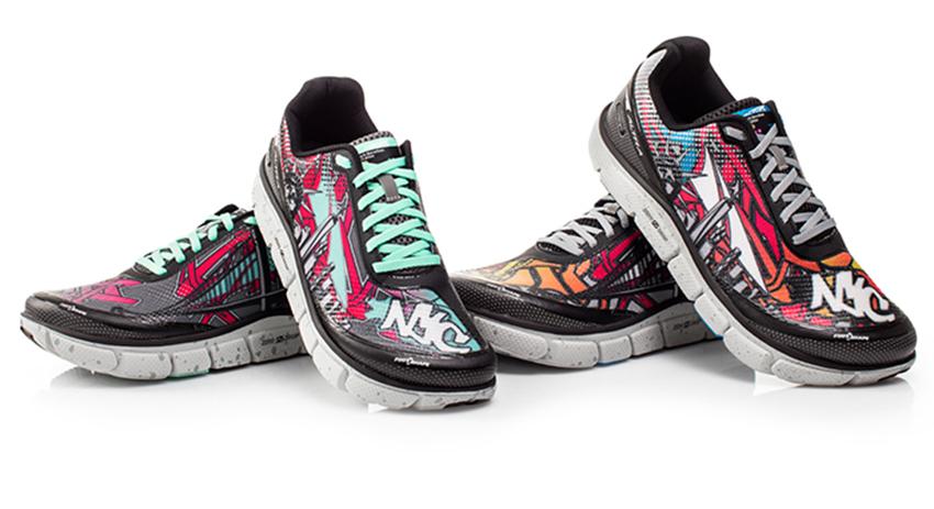 b0597fa0bba PHOTOS  New York City Marathon limited edition running shoes ...