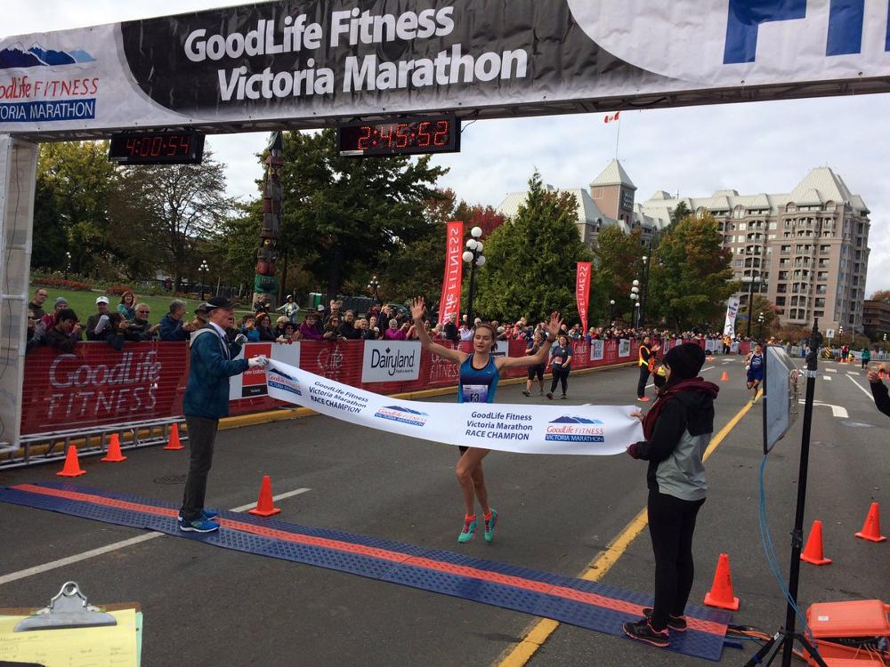 2016 Victoria Marathon