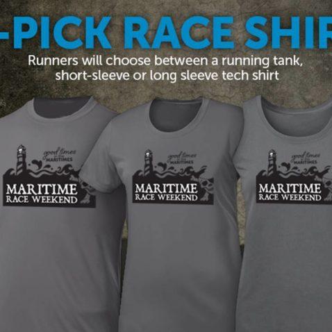 Maritime Race Weekend shirt