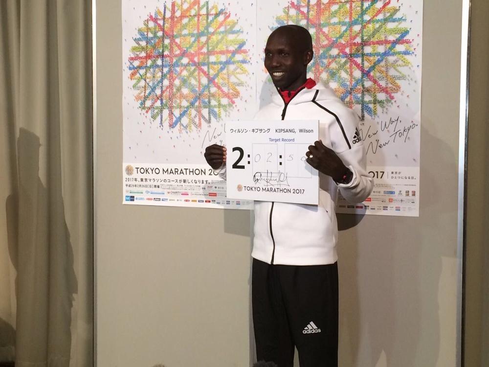check out 6d8e3 e9763 Kenyas Wilson Kipsang predicts a world record for Sundays Tokyo Marathon  - Canadian Running Magazine