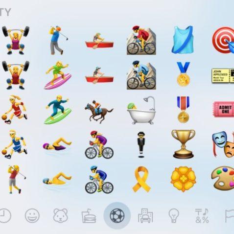 Strava emojis