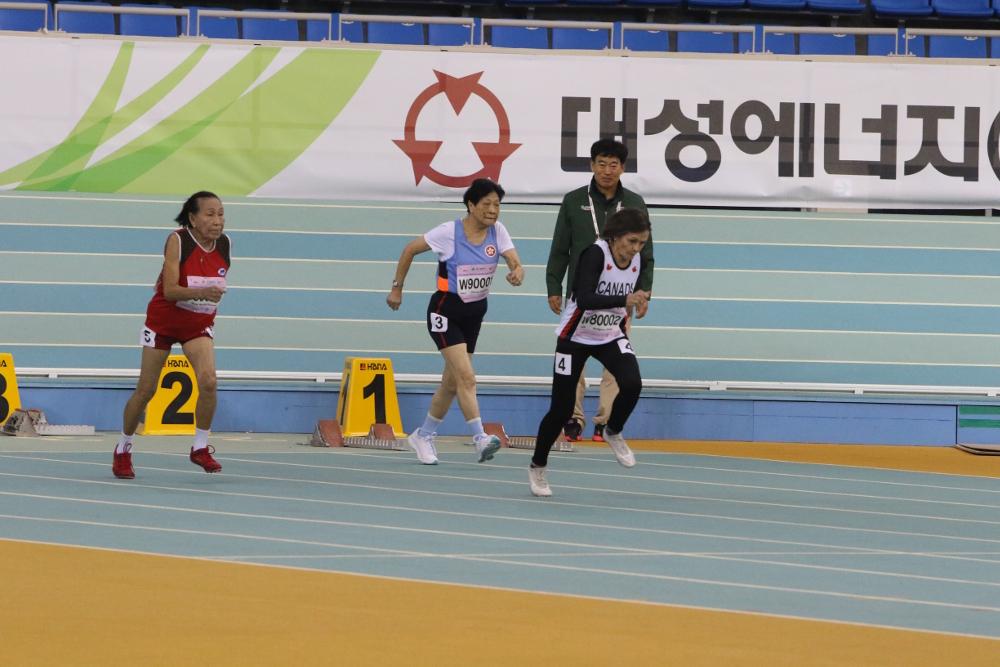 World Masters Athletics Indoor Championships