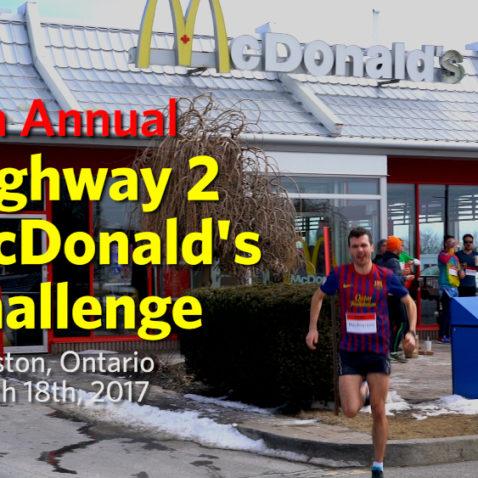 Highway 2 McDonald's Challenge