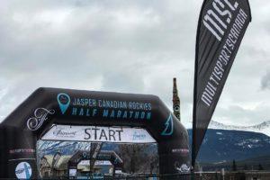 Jasper Canadian Rockies Half-Marathon