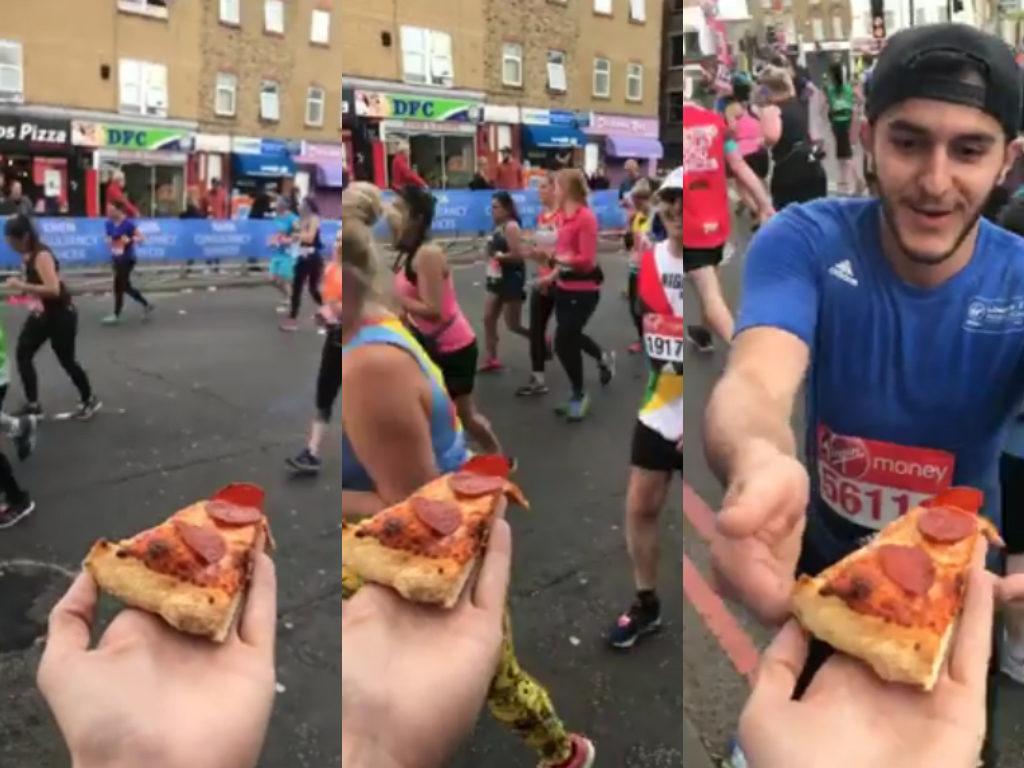 Pizza London Marathon