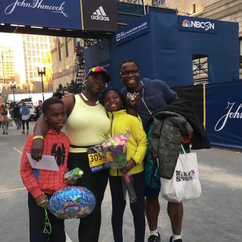 Finisher Boston Marathon