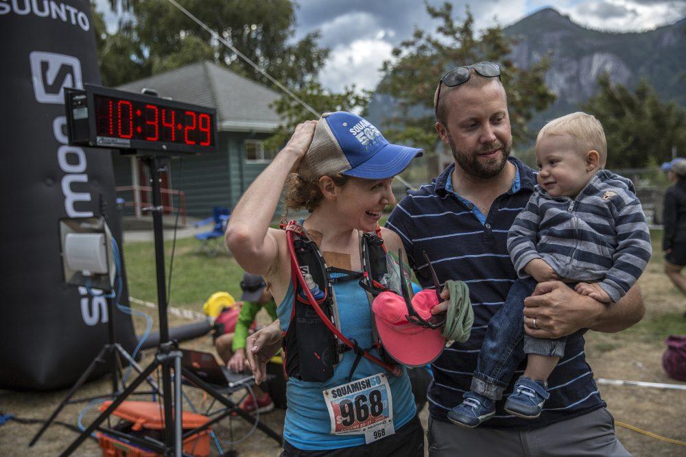 Trail Running Mom