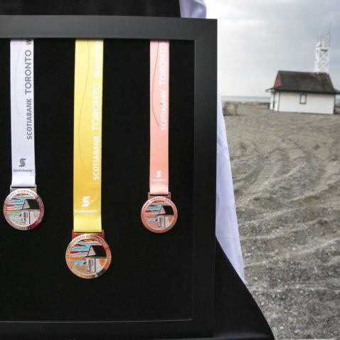 Scotiabank Toronto Waterfront Marathon Medal