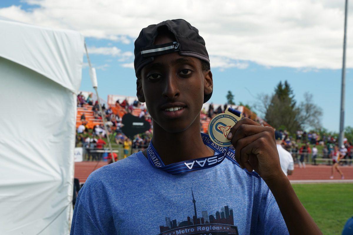OFSAA Midget Boys 800m