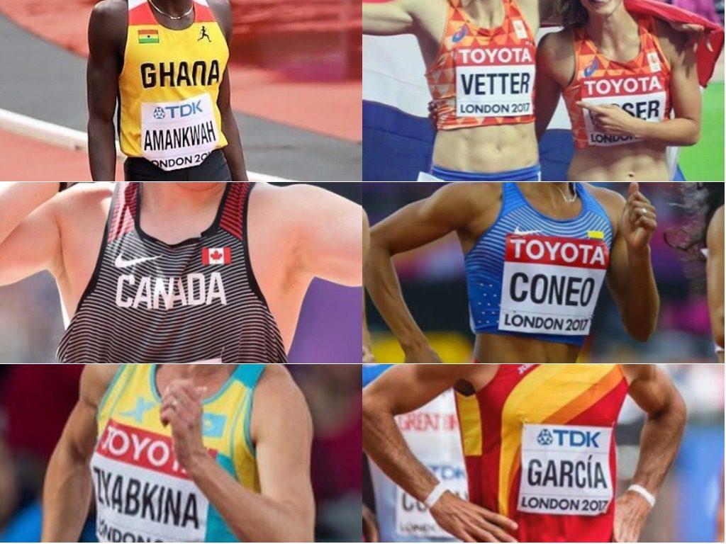 Uniforms IAAF World Championships