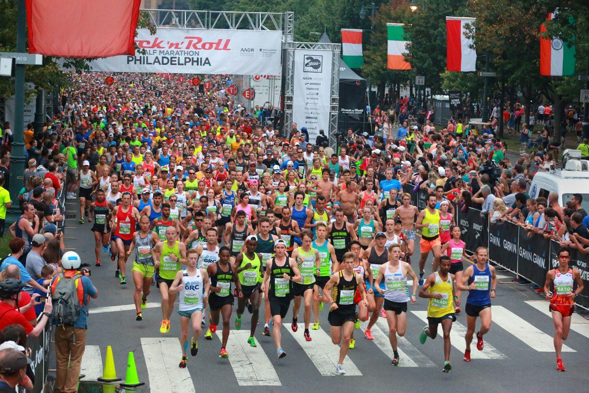 Philadelphia Rock 'n' Roll Half-Marathon