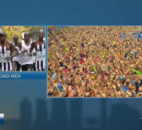 Berlin Marathon Viking Clap