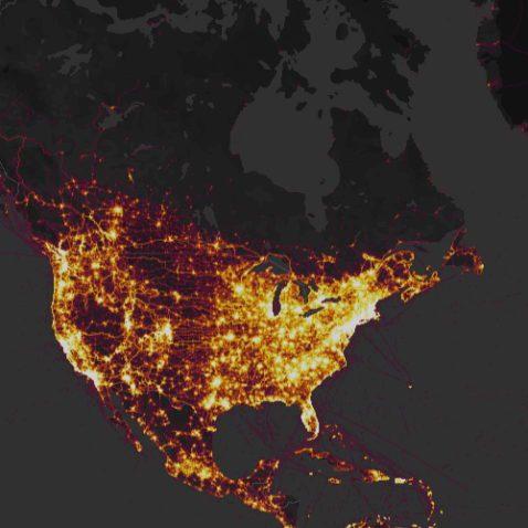 Strava Heat Map
