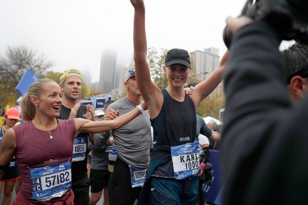 Celebrities New York City Marathon