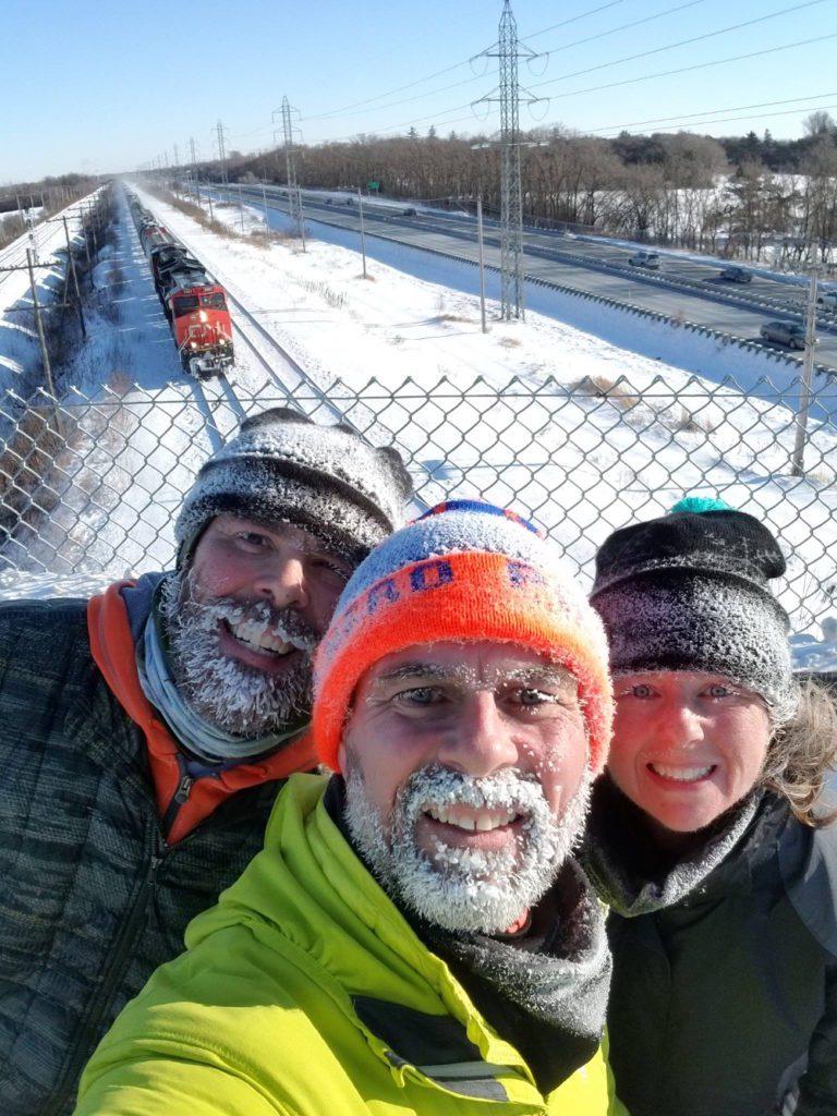 Canadian Winter Running