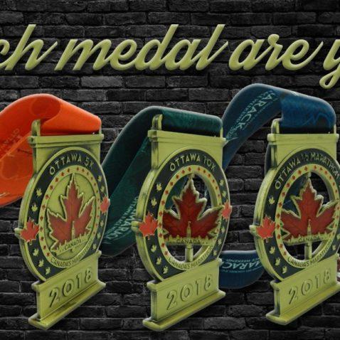 Ottawa Marathon Medal