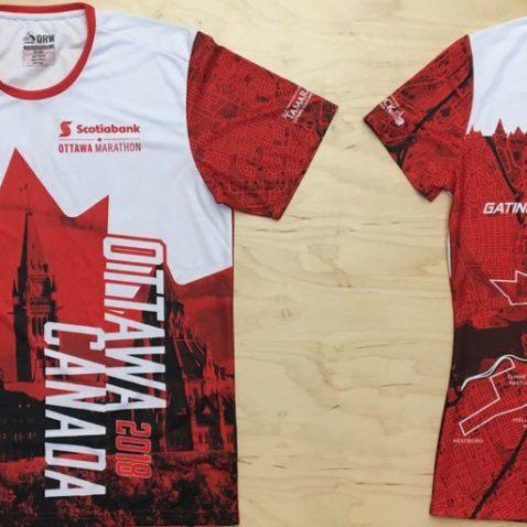 Ottawa Marathon Race Shirt