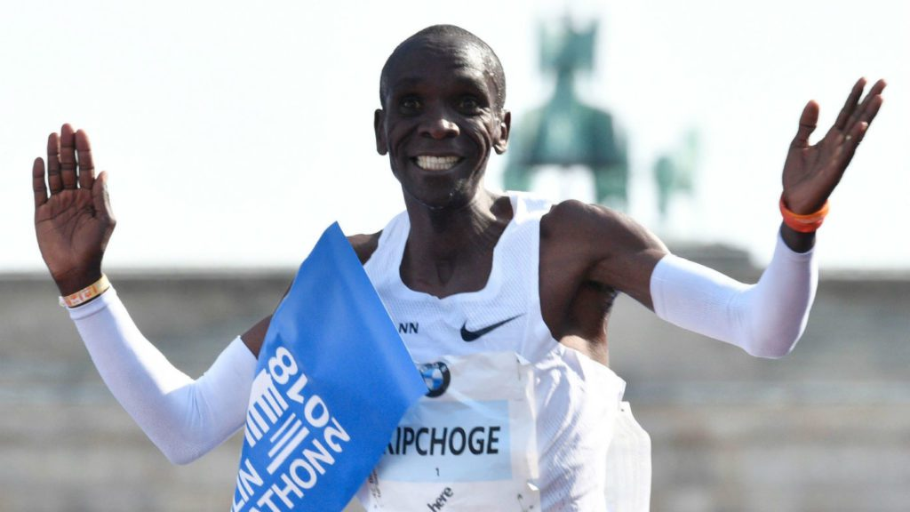 59ecf02b2fbe Eliud Kipchoge says Geoffrey Kamworor will surpass what he has done in  running