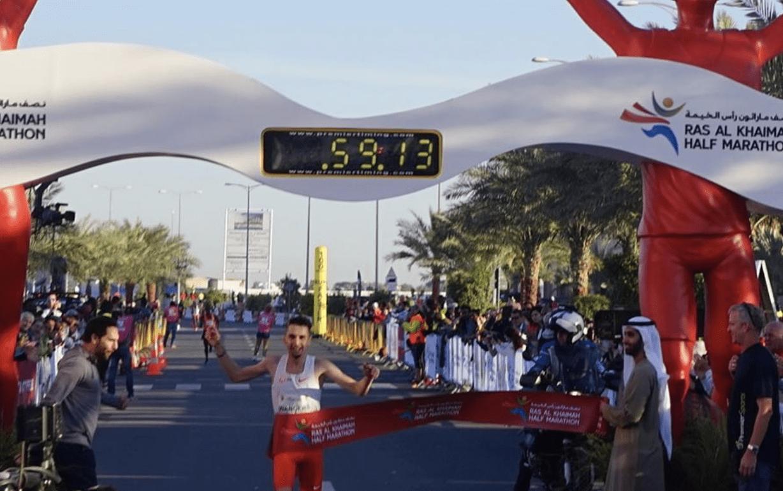 22-year-old smashes Mo Farah's European half-marathon record