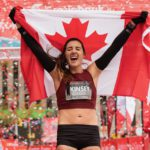 Kinsey Middleton at Canadian Marathon Championships, October 2018. Photo: Todd Fraser, Canada Running Series