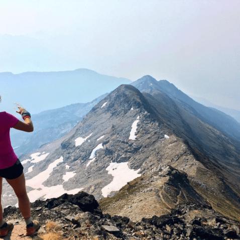 trail running mountain running
