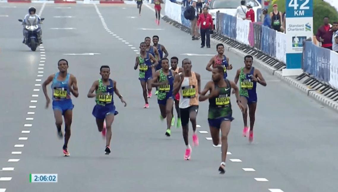 Unbelievable mass finish at Dubai Marathon - Canadian Running Magazine