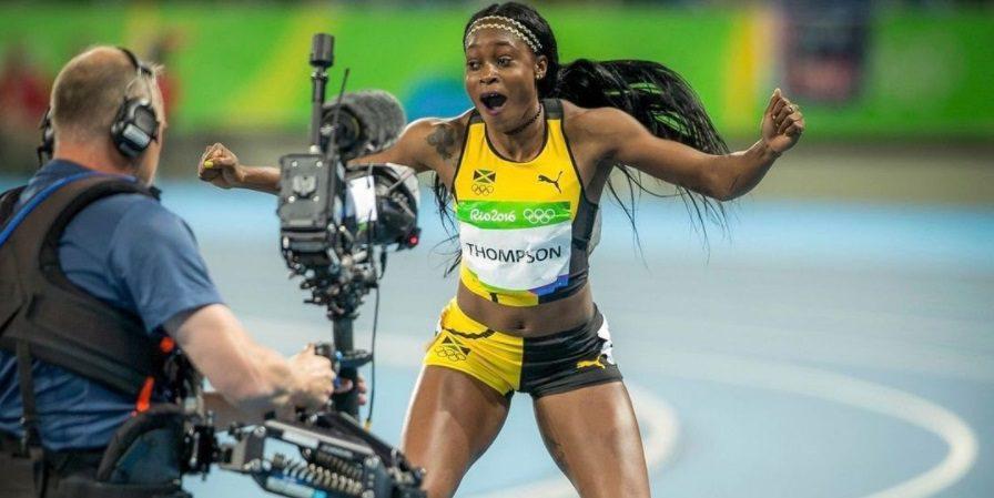Jamaican women sweep 100m podium, set Olympic record - Canadian Running Magazine